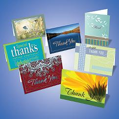 Assortment Set of 50 Thank You Cards