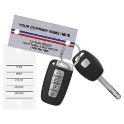 1158; Auto Key Tags personalized with your business information!