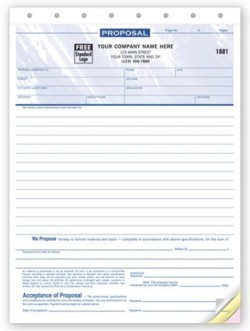 118T Electrical Proposal Form personalized with your business information