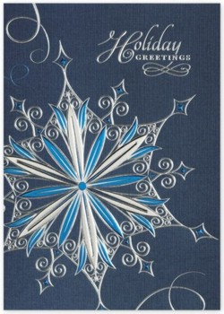 H14636 Crystal Pirouette Holiday Card