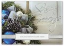 H15629 Sapphire & Silver Holiday Cards