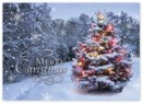 HP14318 Beacon of Joy Christmas Card personalized with your business or personal information