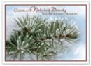 HP15324 Celebrate Nature Recycled Paper Holiday Card personalized with your business or personal information